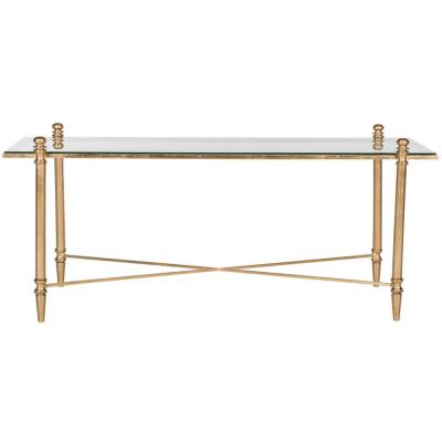 Tait Gold/Clear Coffee Table