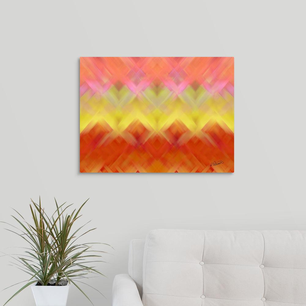 Greatcanvas Basket Weave By Rupa Art Canvas Wall
