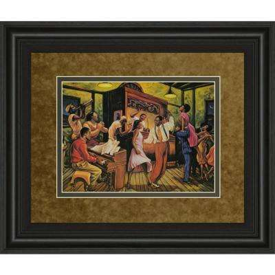 """34 in. x 40 in. """"Swing High"""" by Sarah Jenkins Framed Printed Wall Art"""