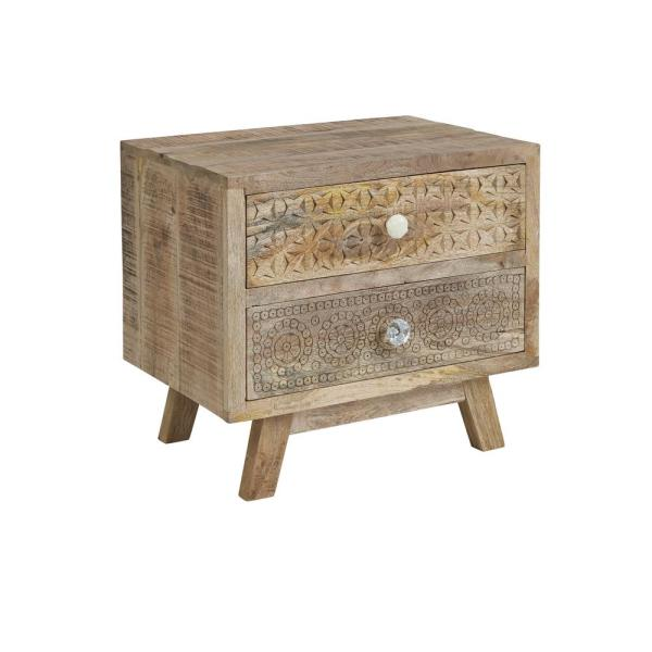 Passport 18in. Ombre Drawer Accent Table