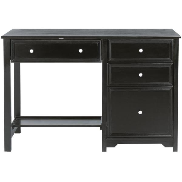 Home Decorators Collection Oxford Black Writing Desk (30 in. H x