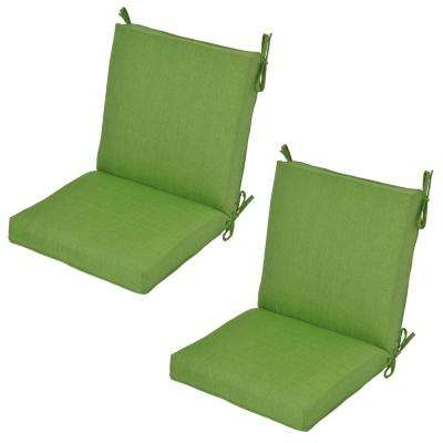 green chair cushions eames wire chair fern outdoor dining chair cushion 2pack green cushions the home