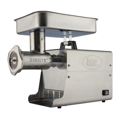 Big Bite Grinder #32 1.5 HP Stainless Steel Electric Meat Grinder