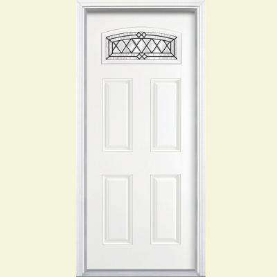 Camber Top Doors With Glass Fiberglass Doors The Home Depot