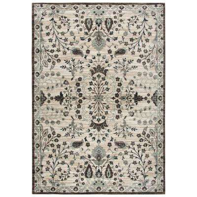 Zenith Ivory Multi 10 ft. x 13 ft. Area Rug