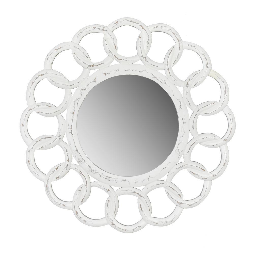 Dunn White Link Mirror