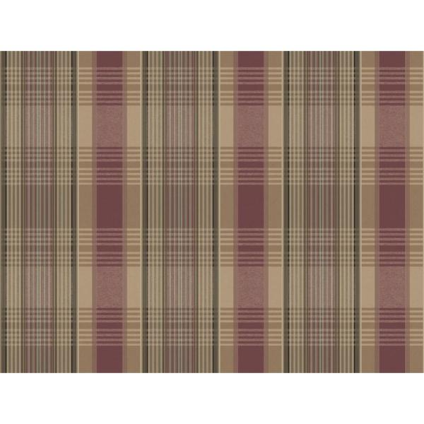 York Wallcoverings Bartola Plaid Wallpaper LG1417