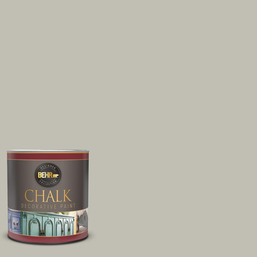 1 qt. #BCP40 Silver Celadon Interior Chalk Decorative Paint