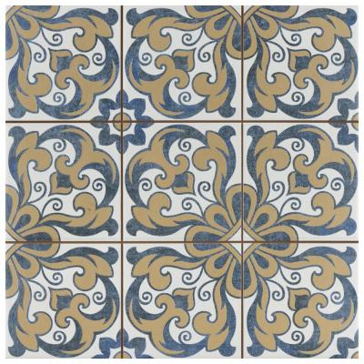 Harmonia Royal Bloom 13 in. x 13 in. Ceramic Floor and Wall Tile (12.19 sq. ft./Case)