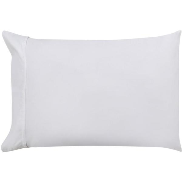 A1 Home Collections 20 In X 26 White Organic Cotton Wrinkle Resistant Pillow
