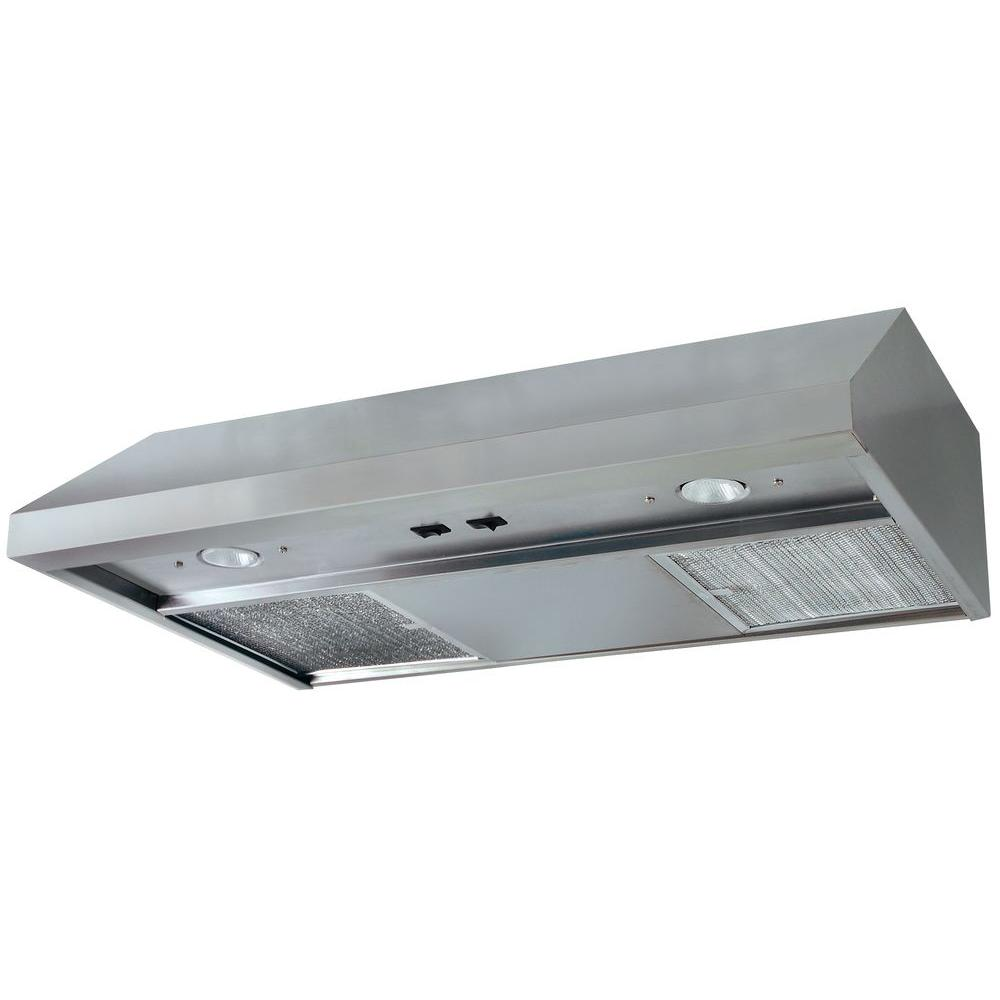 Air King Advantage 36 in. Convertible Range Hood in Stainless Steel