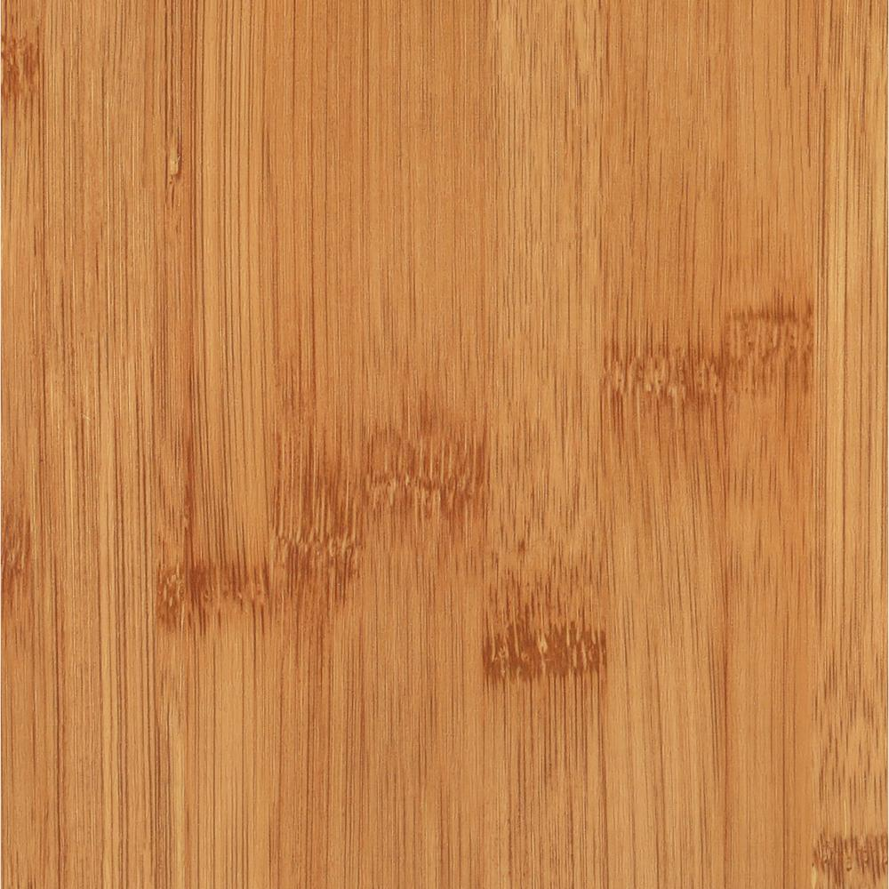 Trafficmaster allure 6 in x 36 in bamboo dark luxury for Dark wood vinyl flooring