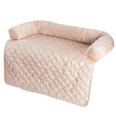 36 in. x 38 in. Polyester Beige Pet Cover