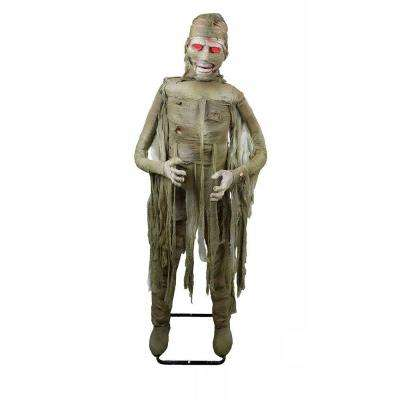 "72 in. Animated Mummy with ""Twisting Body"" and Mouth Movement"