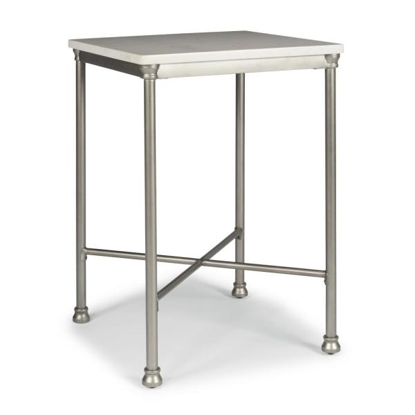 Home Styles Orleans White and Gray Bar Table 5060-35