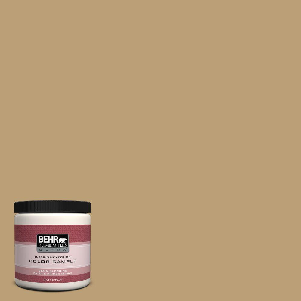 8 oz. #PMD-50 Winter Wheat Interior/Exterior Paint Sample