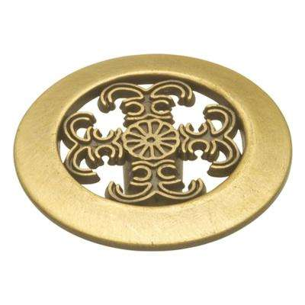 Cavalier 1-1/2 in. Antique Brass Cabinet Knob