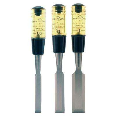 Professional Wood Chisel Set (3-Piece)