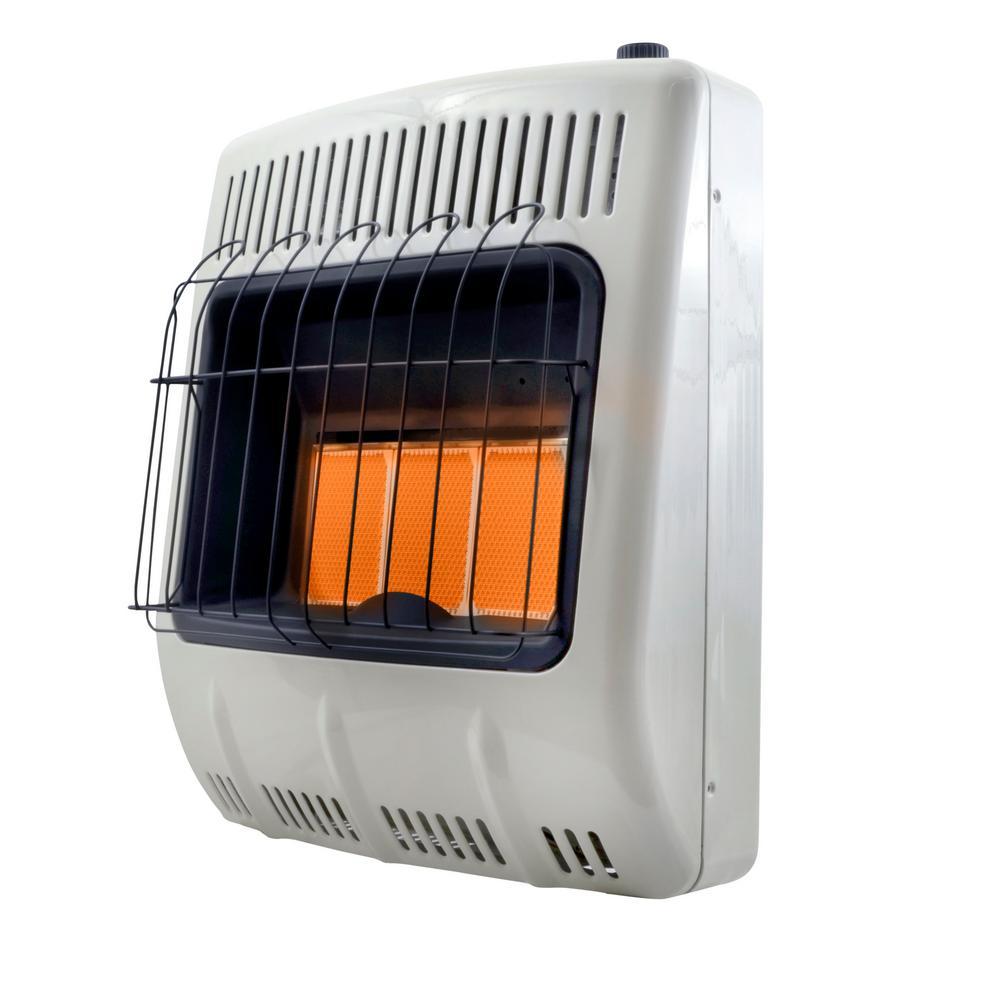 18,000 BTU Vent Free Radiant Propane Portable Heater