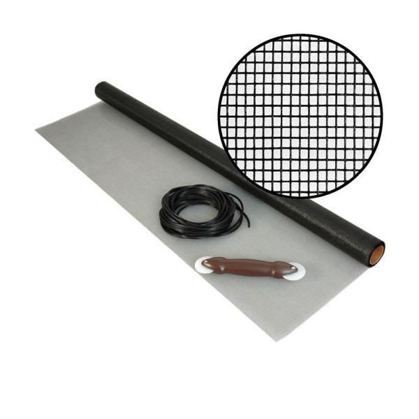 48 in. x 25 ft. Fiberglass Screen Kit with Spline and Roller