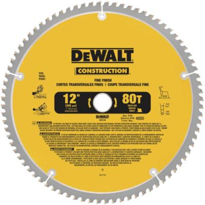 12 in. Miter Saw Blade 32-Teeth and 80-Teeth (2-Pack) with Bonus 12 in. Miter Saw Blade 32-Teeth and 80-Teeth (2-Pack)