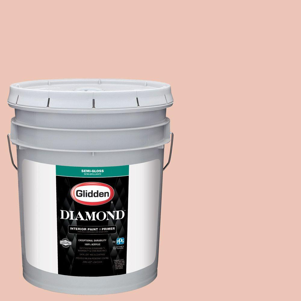 #HDGO06U Duchess Peach Semi Gloss Interior Paint With Primer