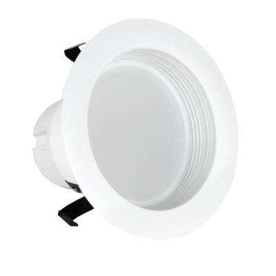 40-Watt Equivalent Warm White 3 in. White Baffle-Trim Recessed Retrofit Downlight Dimmable LED Module