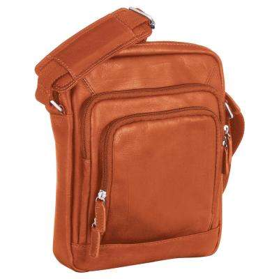 Cognac Unisex Tote for 7.5 in. Electronic Tablets