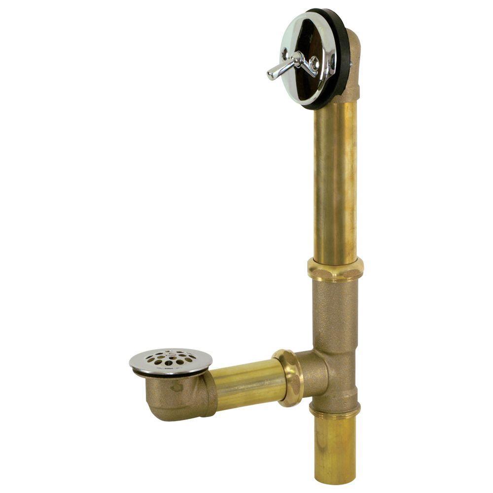 Brass 20-Gauge Trip Lever Bath Waste