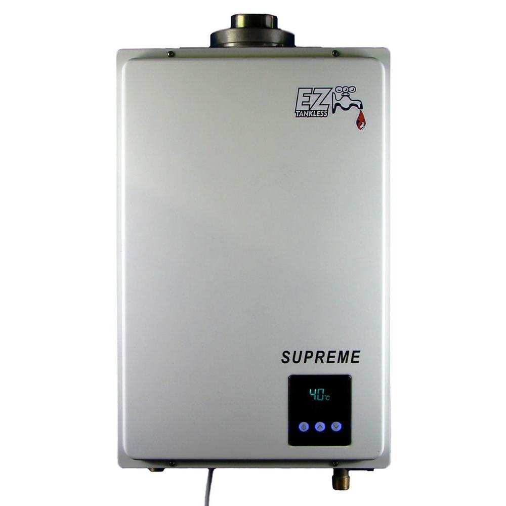 Ez Tankless Supreme On Demand 8 2 Gpm 165 000 Btu Natural Gas Water Heater