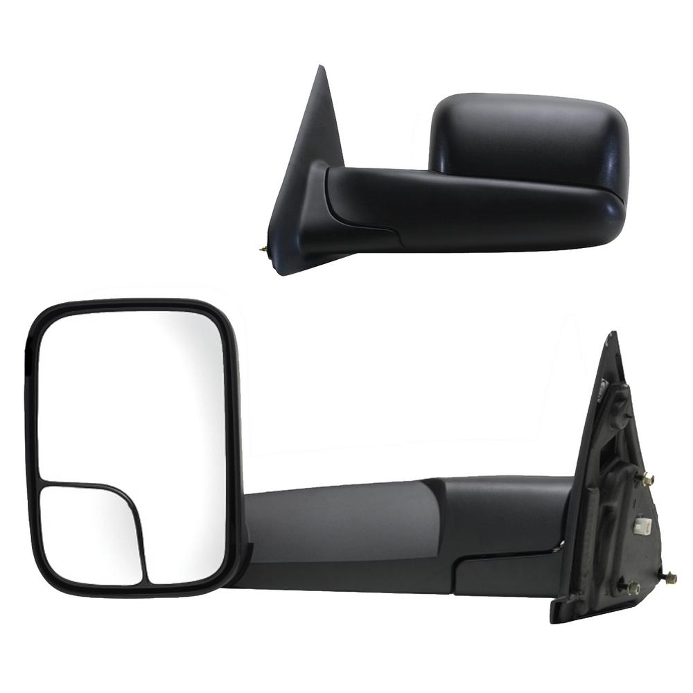 For 98-01 Dodge Ram 1500//98-02 Ram 2500 3500 Power Heated Towing Mirrors Pair