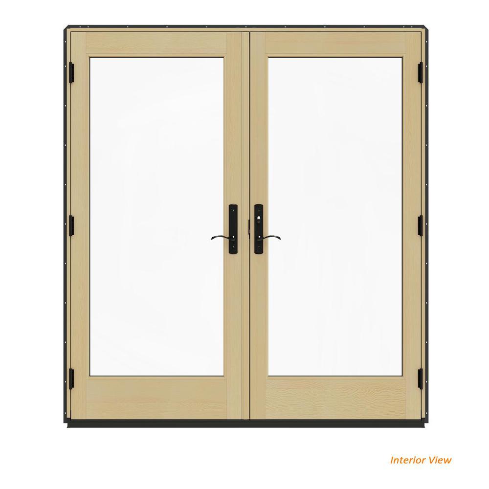 72 in. x 80 in. W-4500 Bronze Clad Wood Left-Hand  sc 1 st  The Home Depot & JELD-WEN - Patio Doors - Exterior Doors - The Home Depot