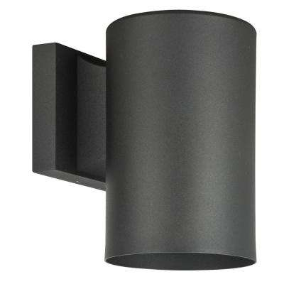 Architectural Outdoor 1-Light Black Outdoor Wall Mount Sconce