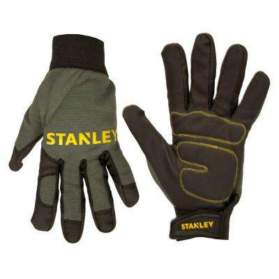 Men's Large Padded Comfort Grip Gloves