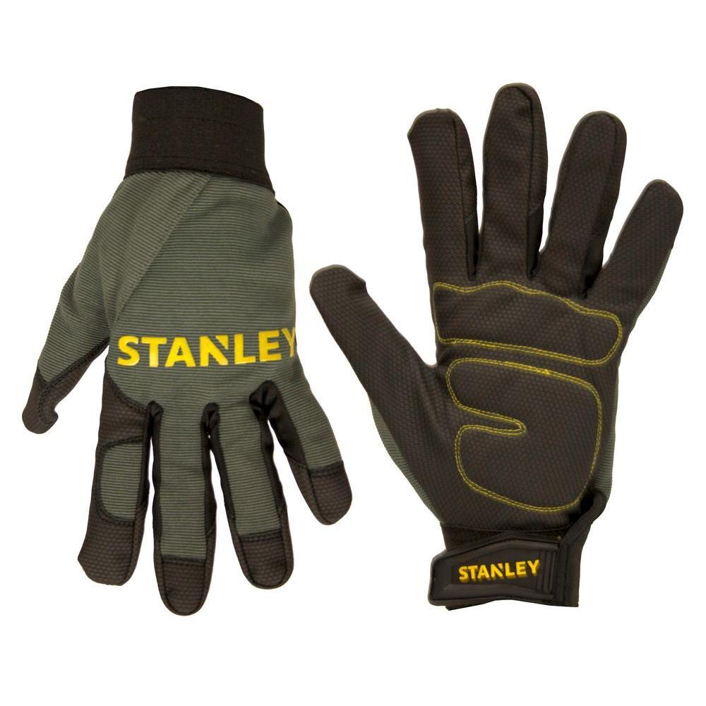 Stanley Men's Medium Padded Comfort Grip Gloves