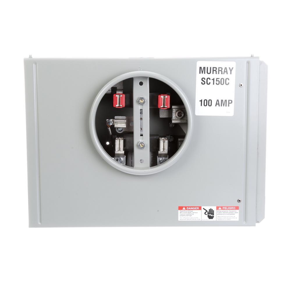 Murray 80 Amp 1-Gang Meter Socket