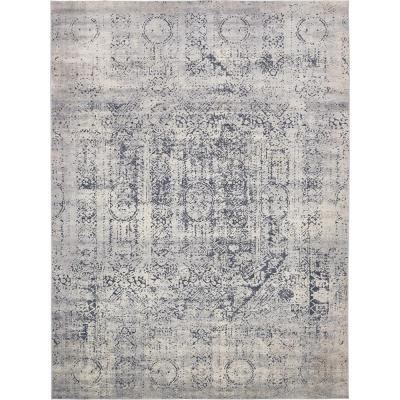 Chateau Quincy Gray 9' 0 x 12' 0 Area Rug