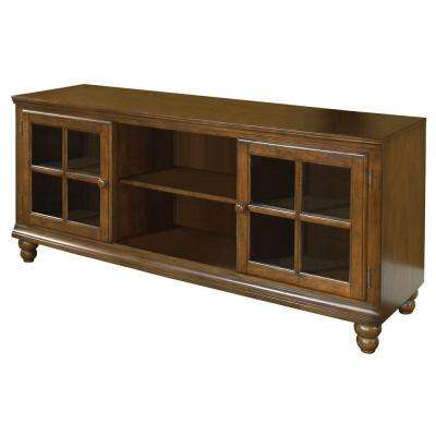 Grand Bay Warm Brown Entertainment Center