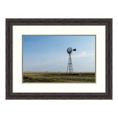 """""""Windmill in rural Gray County in the Texas panhandle"""" by Carol Highsmith Framed Wall Art"""