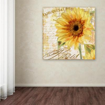 """35 in. x 35 in. """"Ete II"""" by Color Bakery Printed Canvas Wall Art"""