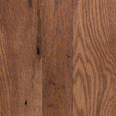 Franklin Sunkissed Oak 3/4 in. Thick x Multi-Width x Varying Length Solid Hardwood Flooring (20.85 sq. ft. / case)