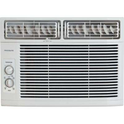 10,000 BTU 115-Volt Window-Mounted Mini-Compact Air Conditioner with Mechanical Controls