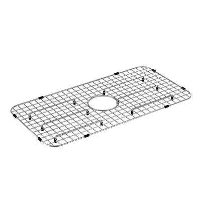 27 in. x 14.75 in. Sink Grid in Stainless Steel