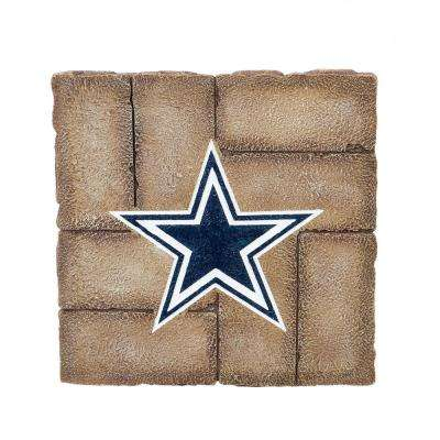 Dallas Cowboys 12 in. x 12 in. Decorative Garden Stepping Stone