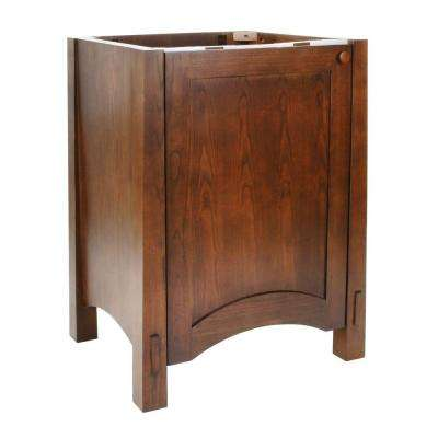 Westmore 24 in. W x 21.5 in. D x 33.5 in. H Bath Vanity Cabinet Only in Westwood