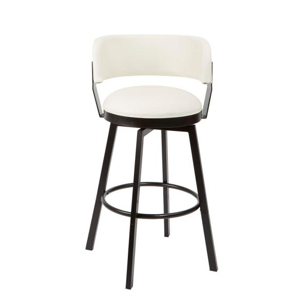 Silverwood Furniture Reimagined Everett Adjustable 24 in. - 29 in. White
