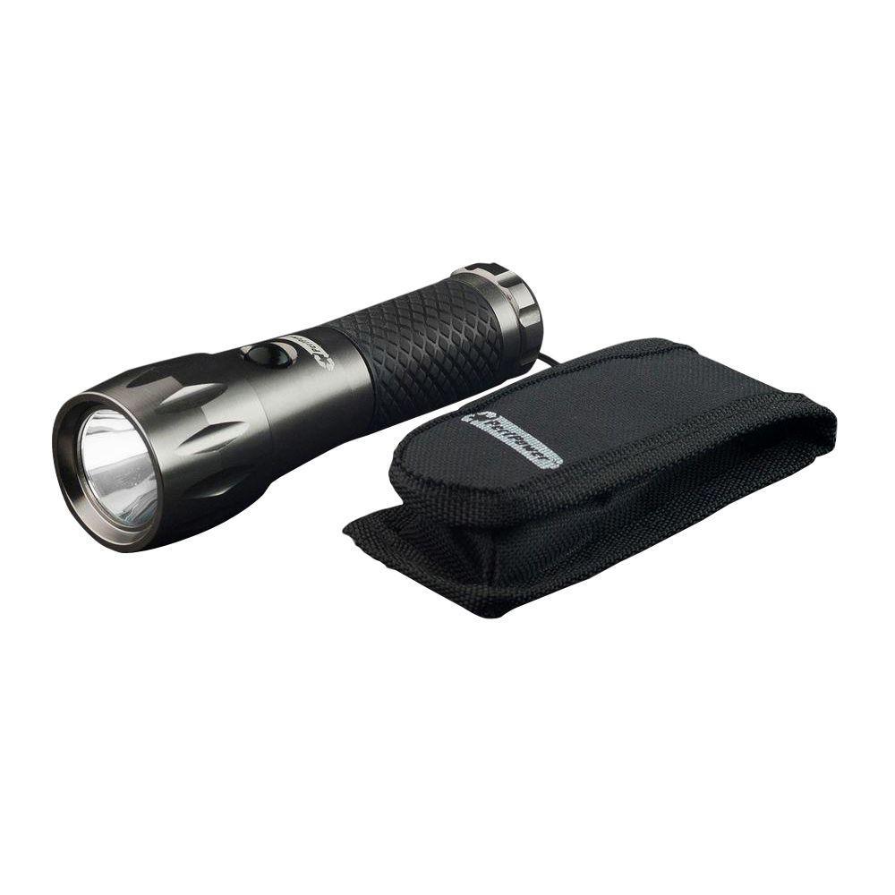 3-Watt Tactical Flashlight with Belt Pouch