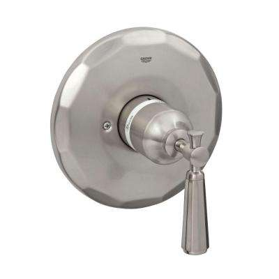 Kensington Single Handle Pressure Balance Valve Trim Kit in Brushed Nickel InfinityFinish (Valve Sold Separately)