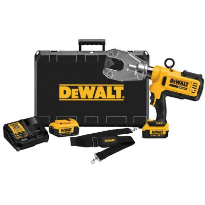 20-Volt Lithium-Ion Cordless Dieless Cable Crimping Tool Kit