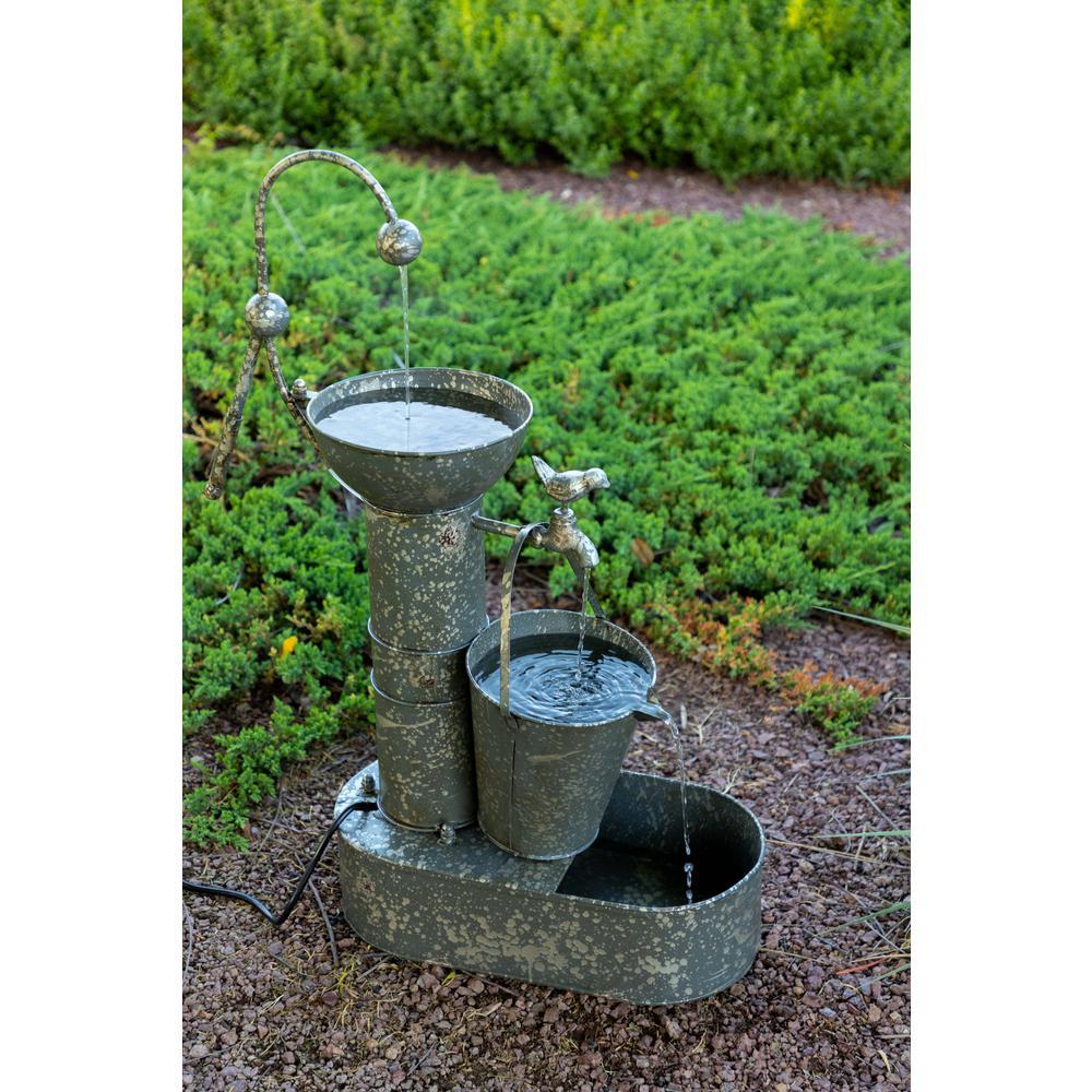 Alpine Tiering Tin Fountain